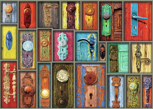 Antique Doorknobs, 1000 Piece Jigsaw Puzzle | Ravensburger