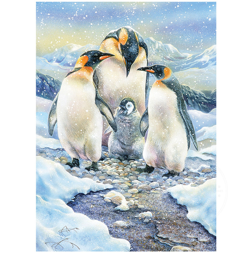 Penguin Family 350 Piece *Family* Jigsaw Puzzle | Cobble Hill
