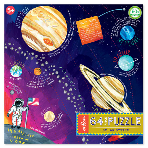 Solar System 64 Large Piece Jigsaw Puzzle | eeBoo