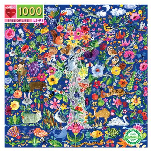 Tree of Life 1000 Piece Jigsaw Puzzle   eeBoo