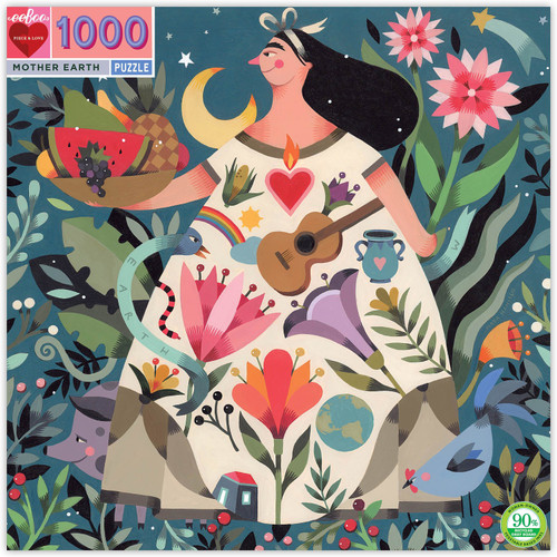 Mother Earth 1000 Piece Jigsaw Puzzle | eeBoo