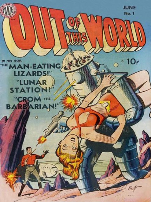 """""""Out Of This World"""" 350 Large-Piece *Whimsical Cut* Wooden Jigsaw Puzzle 
