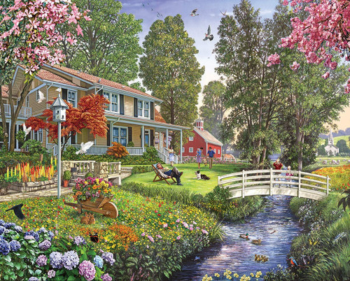 """""""Sunday Afternoon"""" 1000 Piece Jigsaw Puzzle 