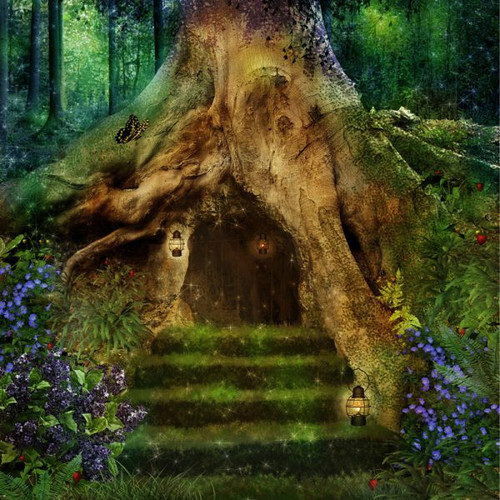 """""""Enchanted Forest"""" 53 Piece Small Children's Wooden Jigsaw Puzzle 
