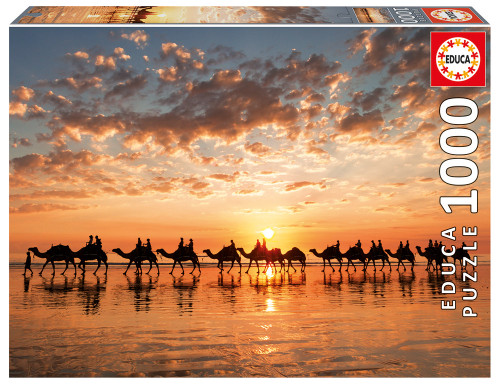 """""""Golden sunset on Cable Beach"""" 1000 Piece Jigsaw Puzzle 