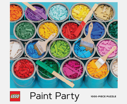 """LEGO Paint Party"" 1000 Piece Jigsaw Puzzle 