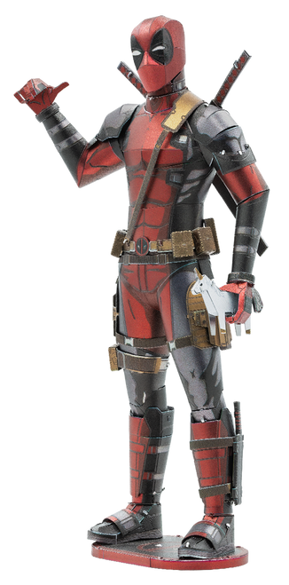 Deadpool Metal Model Kit | Metal Earth