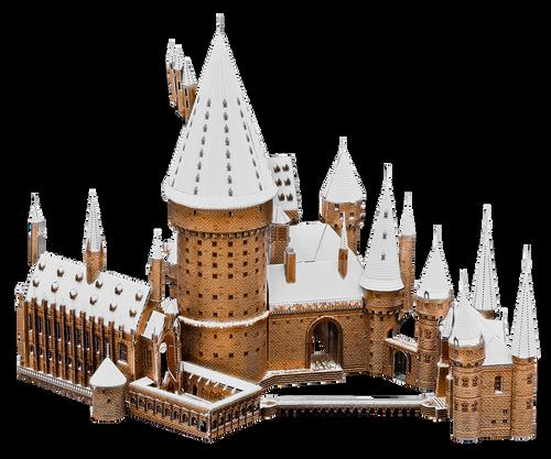 Hogwarts in Snow - Harry Potter Metal Model Kit   Metal Earth