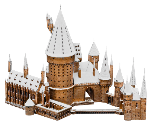 Hogwarts in Snow - Harry Potter Metal Model Kit | Metal Earth