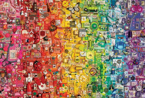 """Rainbow"" 2000 Piece Jigsaw Puzzle | Cobble Hill"