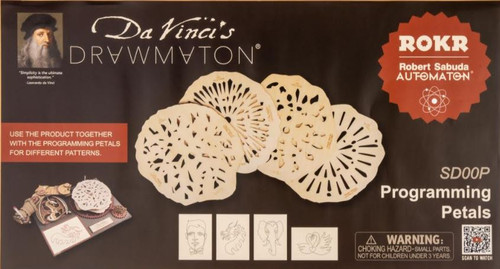 Additional *Programming Petals* For Da Vinci's Drawmaton | Rokr
