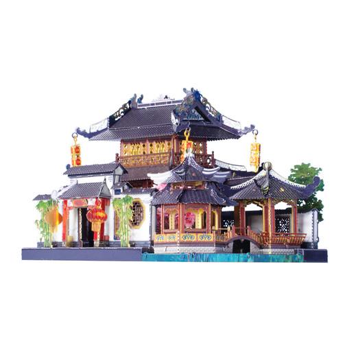 """Su Style Garden House"" Metal Model Kit | MU Model"