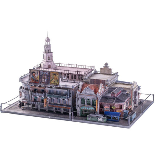 """Old Shanghai Shopping Mall"" Metal Model Kit 