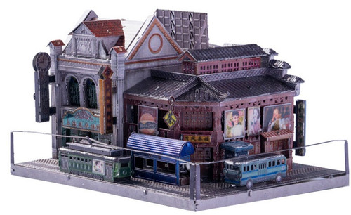 """Old Shanghai Tea House"" Metal Model Kit 