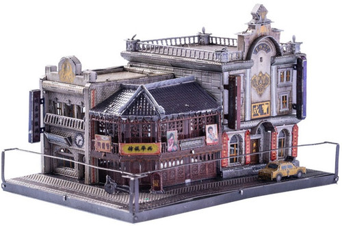"""Old Shanghai Jewelry Store"" Metal Model Kit 