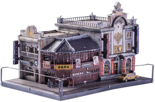 """Old Shanghai Jewelry Store"" Metal Model Kit   MU Model"
