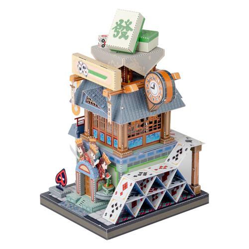 """China Cards & Mahjong Room"" Metal Model Kit | MU Model"