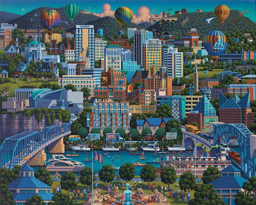 """""""Chattanooga"""" 500 Piece Jigsaw Puzzle 