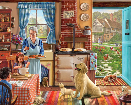 """""""Home Sweet Home"""" 1000 Piece Jigsaw Puzzle 