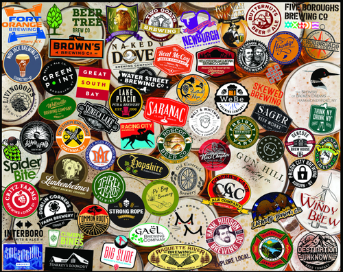 """""""NY Craft Beers"""" 1000 Piece Jigsaw Puzzle 