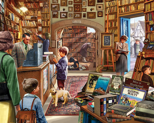 """""""Old Book Store"""" 1000 Piece Jigsaw Puzzle 