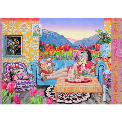 """Botany"" 1000 Piece Jigsaw Puzzle | Cloudberries"