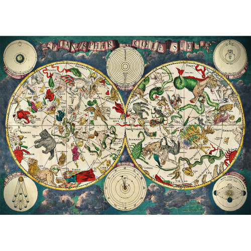 """Celestial"" 1000 Piece Jigsaw Puzzle | Cloudberries"