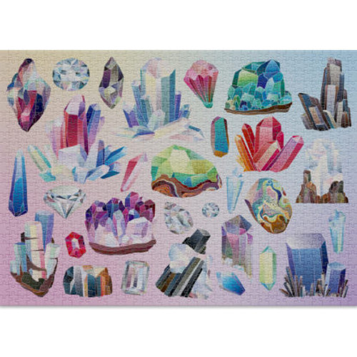 """""""Crystals"""" 1000 Piece Jigsaw Puzzle 