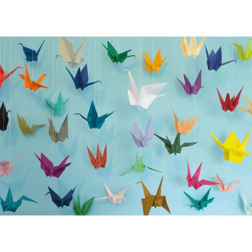 """Origami"" 1000 Piece Jigsaw Puzzle | Cloudberries"