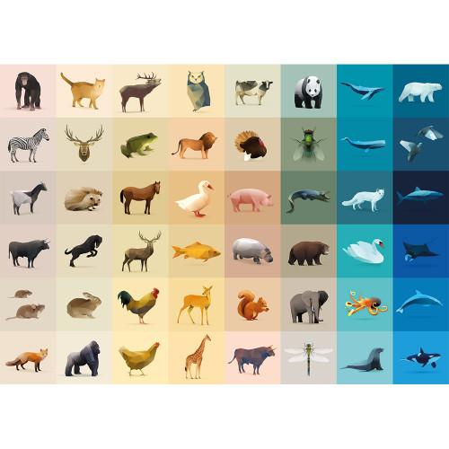 """Fauna"" 1000 Piece Jigsaw Puzzle | Cloudberries"