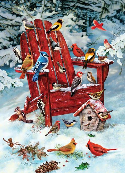 """Adirondack Birds"" 1000 Piece Jigsaw Puzzle | Cobble Hill"