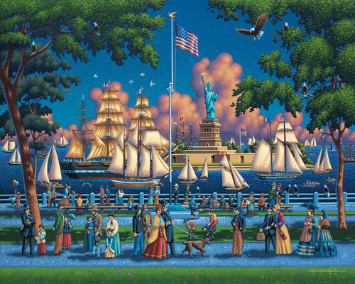 """""""Statue of Liberty"""" 500 Piece Jigsaw Puzzle 
