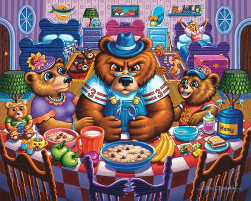 """The Three Bears"" 500 Piece Jigsaw Puzzle | Dowdle"