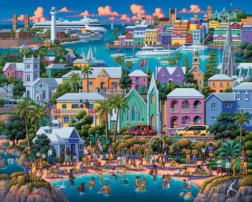 """""""Bermuda"""" 500 Piece Jigsaw Puzzle   Dowdle"""