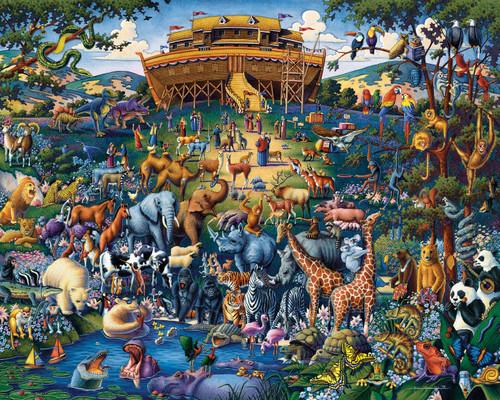 """""""Noah's Ark"""" 1000 Piece Jigsaw Puzzle   Dowdle"""
