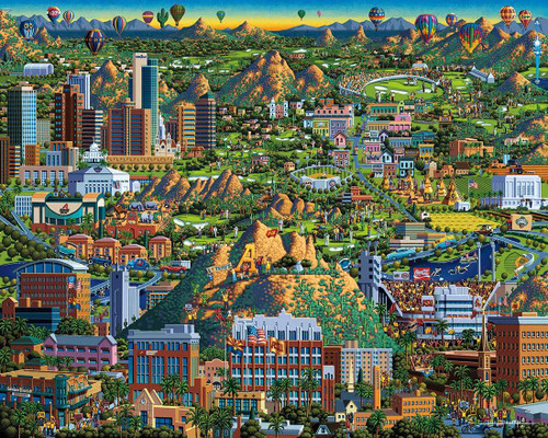 """""""Valley of the Sun"""" 1000 Piece Jigsaw Puzzle 