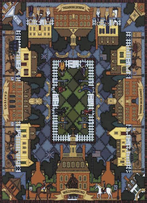 """Williamsburg Quilt"" 1000 Piece Jigsaw Puzzle | Dowdle"