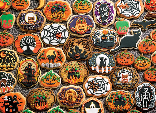 """Halloween Cookies"" 350 *Family Pieces* Jigsaw Puzzle 