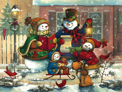"""""""Song for the Season"""" 350 *Family Pieces* Jigsaw Puzzle 