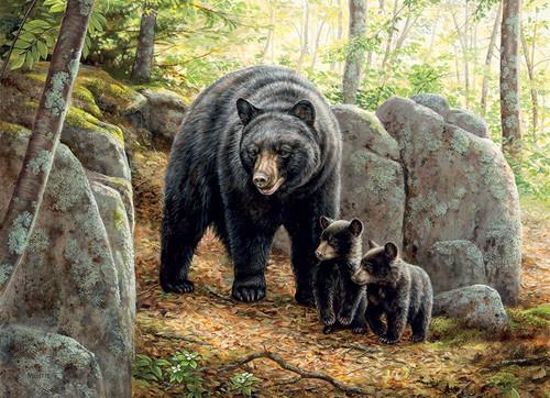 """Mama Bear"" 1000 Piece Jigsaw Puzzle   Cobble Hill"