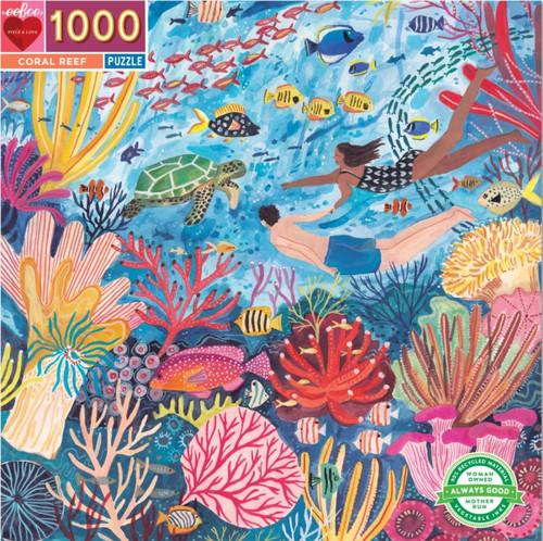 """Coral Reef"" 1000 Piece Jigsaw Puzzle | eeBoo"