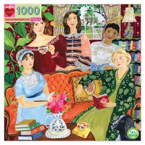 """Jane Austen's Book Club"" 1000 Piece Jigsaw Puzzle | eeBoo"