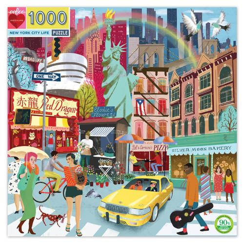 """New York City Life"" 1000 Piece Jigsaw Puzzle | eeBoo"