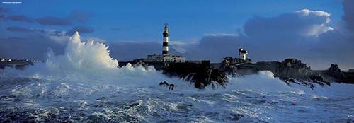 """Lighthouse"" 1000 Piece Panorama Jigsaw Puzzle | Heye"