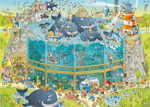 """Ocean Habitat"" *Funky Zoo Series* 1000 Piece Jigsaw Puzzle | Heye"