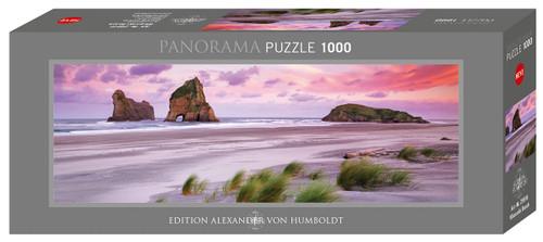 """Wharariki Beach"" 1000 Piece *Panorama* Jigsaw Puzzle | Heye"