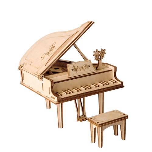 Grand Piano Wooden Model Kit | Rolife