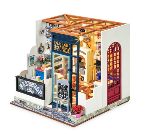 Nancy's Bake Shop *Build-Your-Own* Dollhouse Kit | Rolife