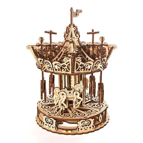 Carousel Mechanical Wooden Model | UGears