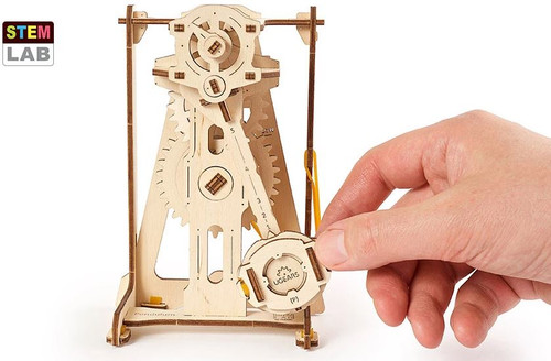 Pendulum STEM Lab Mechanical Wooden Model | UGears